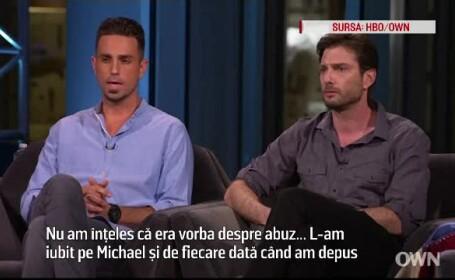 barbat abuzat de Michael Jackson
