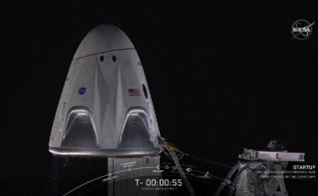 Crew Dragon, space x, racheta, falcon