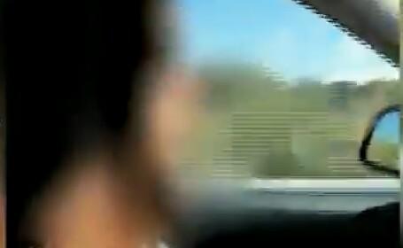 O minoră a fost arestată după ce a condus cu 220 de km/h pe autostradă. VIDEO