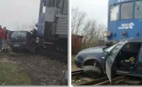 """Mecanic de locomotivă, atacat după ce a lovit o mașină: """"Ce mă, nu puteai să frânezi?"""""""