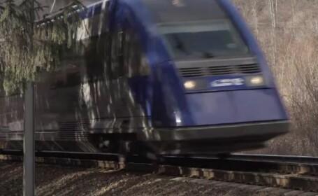 tren cale ferata