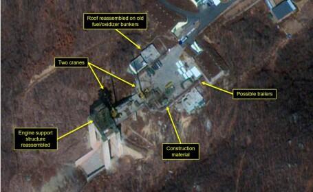 Imagini de la Baza de rachete nucleare Sohae