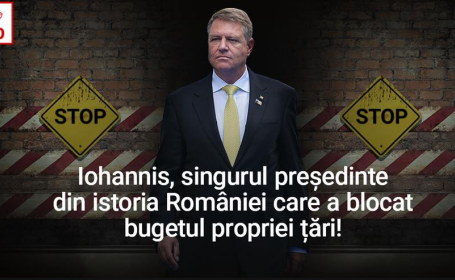 postare PSD Iohannis