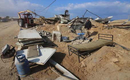 Aviaţia israeliană a lansat un atac asupra Fâşiei Gaza. Ce ţinte au fost lovite