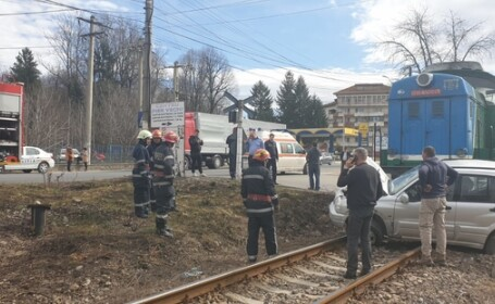 accident tren pucioasa