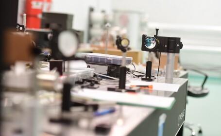Imagine de la Centrul de Cercetare ELI-NP