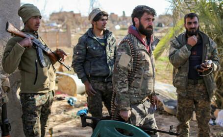 Muntele pe care se ascund sute de terorişti ISIS. Ar putea reînvia Statul Islamic
