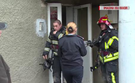 Panică într-un cartier din Oradea în urma unui incendiu provocat de o ţigară aprinsă