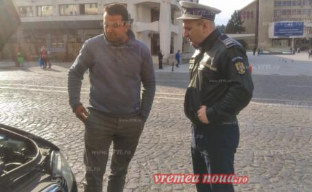 Dosar penal pentru un protestatar #șîeu din Vaslui. Ce le-a spus polițiștilor