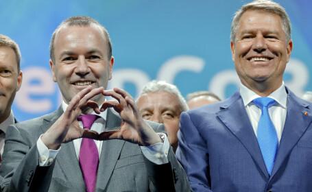 Manfred Weber, Klaus Iohannis