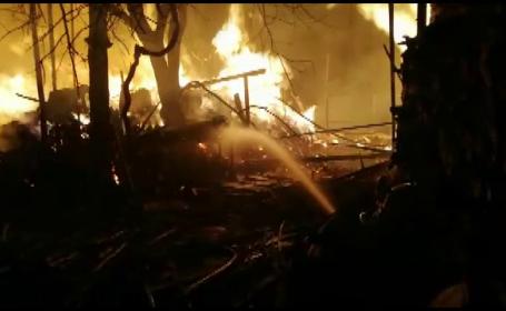 incendiu Gorj