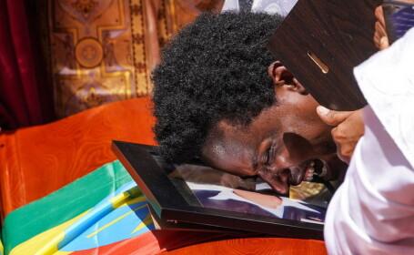 Funeraliile victimelor tragediei din Etiopia