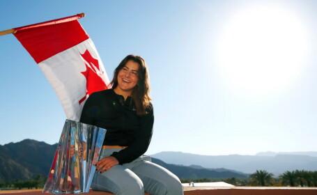 Bianca Andreescu a câștigat turneul de la Indian Wells