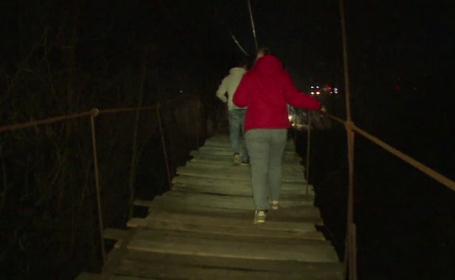 Un bicliclist și-a găsit sfârșitul, după ce a căzut de la 6 m înălțime, în Dâmbovița