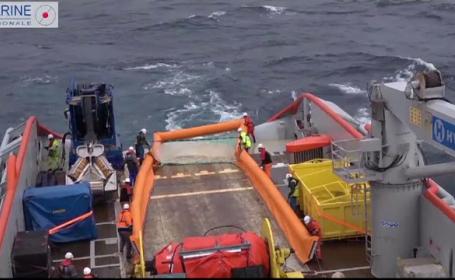 Pată de petrol în Oceanul Atlantic