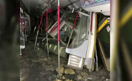 Accident grav la metrou, în Hong Kong
