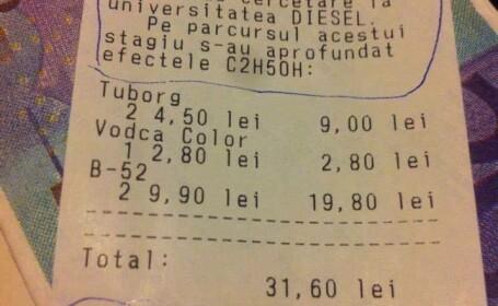 Prețurile din baruri, înaine de inflația ultimilor doi ani. Bonurile care au devenit virale - 9