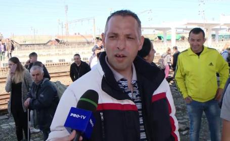"""Mărturiile pasagerilor din trenul care a luat foc în gară: """"Două minute și explodam toți"""""""