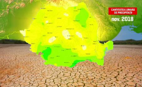 Romania, afectata de seceta