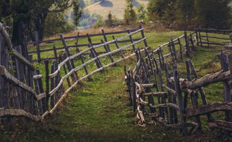 peisaj de primavara in Romania
