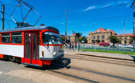 tramvai în Arad