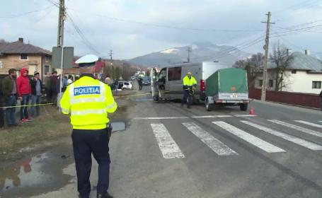 Accident în lanț în Bistrița Năsăud