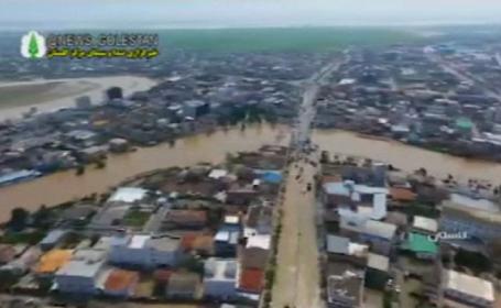 Inundații devastatoare in Iran