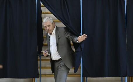 Liviu Dragnea la vot