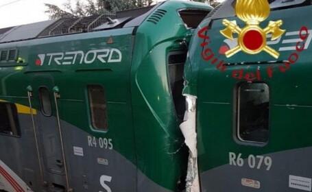 Impact între două trenuri în Italia