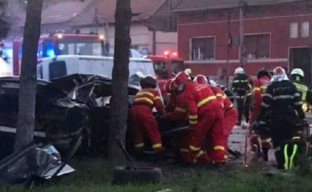 Accident grav, soldat cu 2 morți la Târgu Mureș