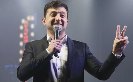 Alegeri prezidențiale în Ucraina. Un actor fără experiență politică a câștigat prima rundă