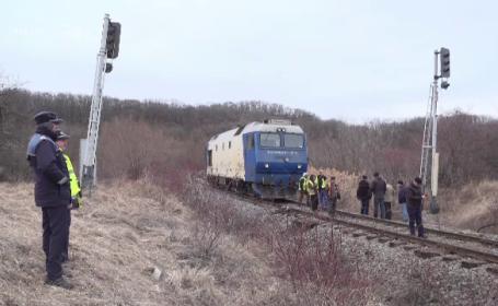 Moarte fulgerătoare pentru un bărbat din Dâmbovița. A fost spulberat de un tren