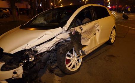 Accident grav în Mamaia. O victimă a fost proiectată la 100 de metri de mașină