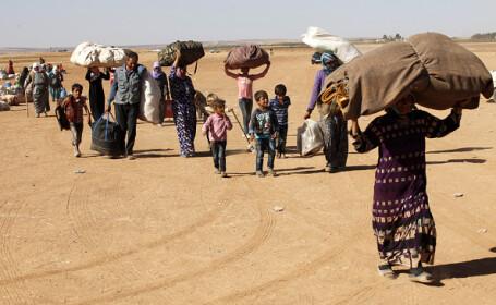 Migranți Siria