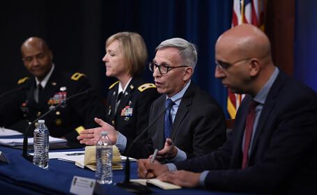Dr. Nelson Michael vorbește la Pentagon despre un al doilea val de coronavirus