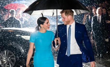 Meghan şi Harry, prima apariţie publică de la retragerea lor din familia regală britanică