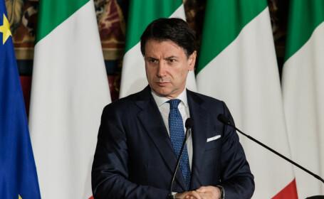 Premierul Giuseppe Conte spune că Italia se confruntă cu ora s cea mai întunecată