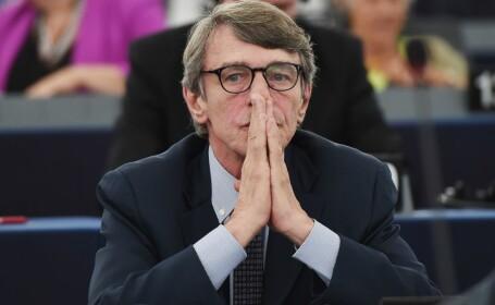 Preşedintele PE a intrat în carantină voluntară la domiciliul din Bruxelles ca măsură de precauţie, după ce a fost în Italia