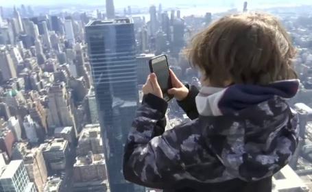 Panoramă spectaculoasă a orașului New York, din vârful unui zgârie-nori de 105 etaje