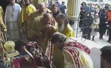 Arhiepiscopul Tomisului, Teodosie, slujbă fără măsuri de protecție. Recomandarea BOR