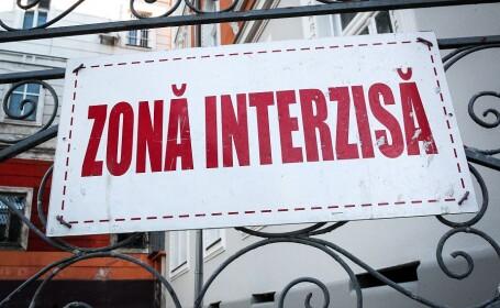Anunt de Zona Interzisa in Oradea