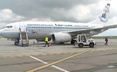 Ce s-a întâmplat cu cursa Tarom, oprită de la decolare din cauza unei pasagere care a tușit