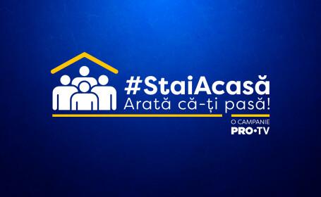 """PRO TV lansează campania """"Arată că îți pasă, stai acasă!"""""""