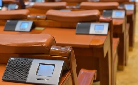 sistemul electronic de vot al parlamentului