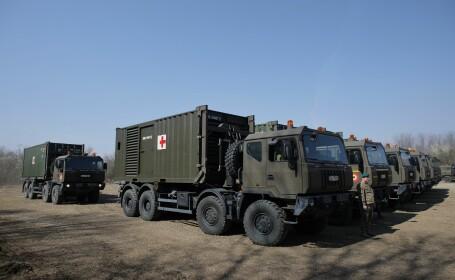 Armata Română a început construcţia unui spital mobil pentru cazurile de coronavirus