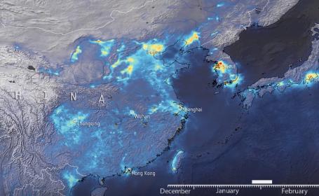 Cum s-a redus poluarea din China în urma pandemiei de coronavirus