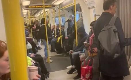 Imagini greu de înțeles la Londra. Oamenii iau cu asalt metroul, în ciuda restricțiilor