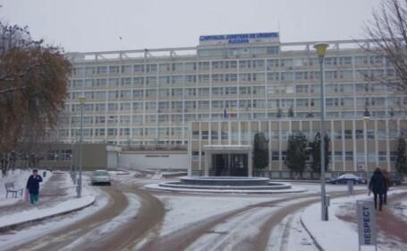 Spitalul Judeţean Suceava, închis pentru 48 de ore în vederea dezinfecţiei