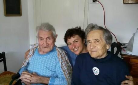 Batran 101 ani Italia