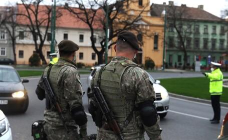 Actiuni de verificare a respectarii masurilor impuse prin Ordonanta Militara numarul 3 din 24 martie 2020 efectuate de reprezentanti ai MAI, MApN si ai Politiei Locale in Timisoara